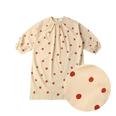 FRENCH LONG ONEPIECE: RED DOT