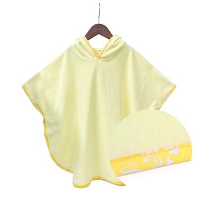 LB HOODIE CAPE TOWEL: YELLOW