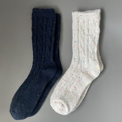 [MOM] WOOL SOCKS: CANDY POP
