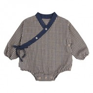 BABY PLAY SUIT: CHECK<br/>