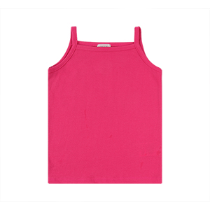 BABY STRING TOP: HOT PINK <br/>
