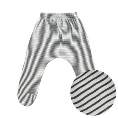 BABY FOOT BAGGY PANTS: STRIPE BLACK