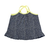 dalmatian string top: navy<br/>
