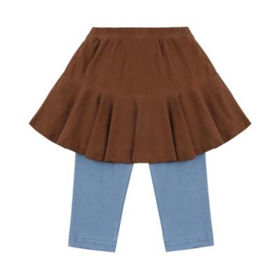 7.Skirt Leggings: Brown
