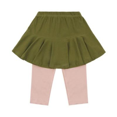7.Skirt Leggings: Khaki