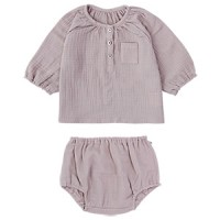 WAFFLE BABY SET: PINK<br/>