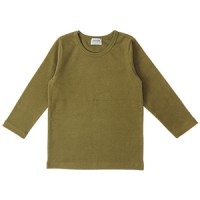 LITTLE BASIC SOFT TEE: OLIVE<br/>