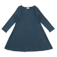RIBBED A LINE ONEPIECE: PEACOCK<br/>
