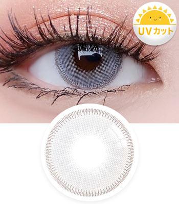 【UVカット・最高品質】スーパーアモール( Super Amor )グレー Gray 「3ヶ月レンズ」ブランドの新作カラコン|含水率:43% 着色直径:13.5|ハーフナチュラル・デカ目高発色