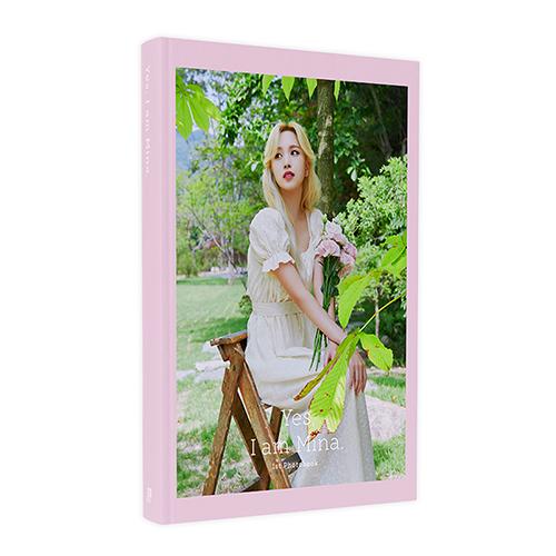 [포토북] 미나 (Mina) - Yes, I am Mina.  [Pink Ver. (B)]