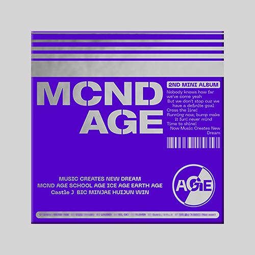 엠씨엔디 (MCND) - 미니2집 : MCND AGE [GET Ver.]