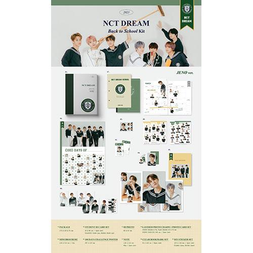 NCT DREAM - 2021 NCT DREAM BACK TO SCHOOL KIT [JAEMIN Ver.]