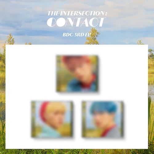 [한정반] 비디씨 (BDC) - 3RD EP : THE INTERSECTION : CONTACT [Jewel Case Ver.][3종 중 1종 랜덤발송]