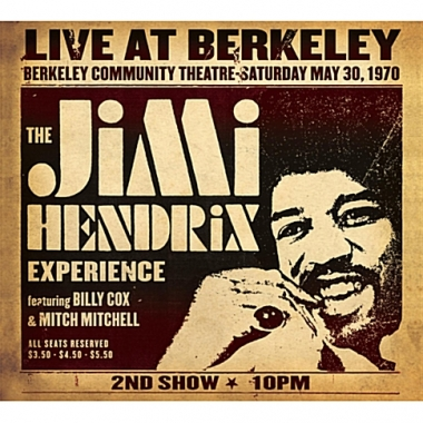 JIMI HENDRIX EXPERIENCE - LIVE AT BERKELEY [DIGIPACK]