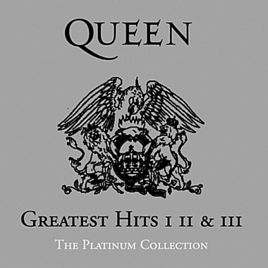 QUEEN - GREATEST HITS 1, 2 & 3: THE PLATINUM COLLECTION