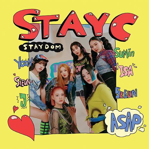 스테이씨 (STAYC) - 싱글2집 : STAYDOM
