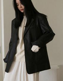 Colombo leather jacket