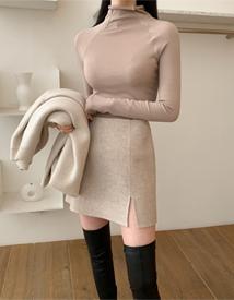 Hand mini skirt