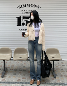B214 denim pants