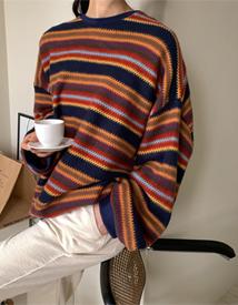 Bohemian knit mtm