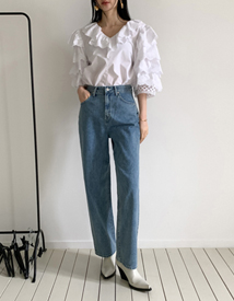 Mosa wide denim