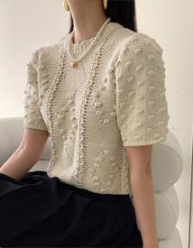 Pompom knit *아이보리, 3월15일 입고예정*