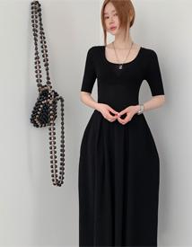 ビフルロングドレス