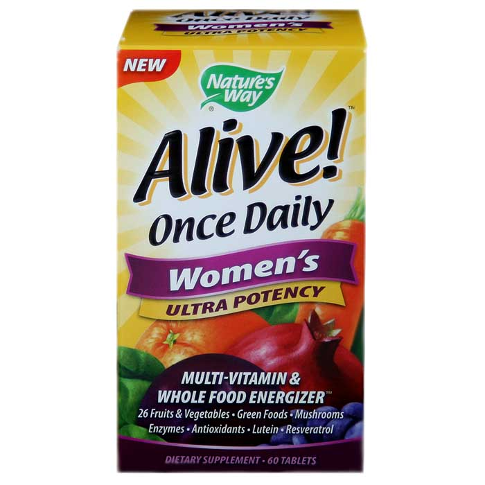 Nature's Way Alive! Women's Once Daily Multi-Vitamin (60 Tablets)