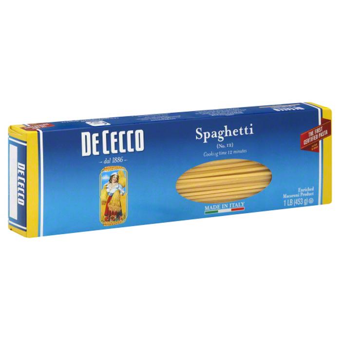 De Cecco Pasta Spaghetti no.12 (453g)