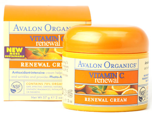 Avalon Organics Vitamin C Renewal Facial Cream (2 oz)