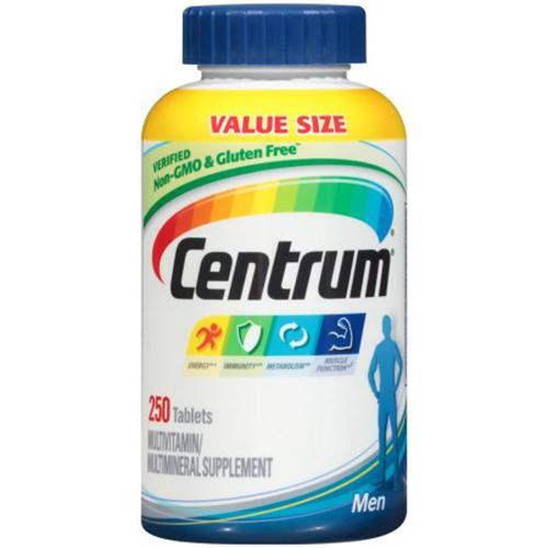 Centrum Multivitamin for Men, 250 tabs