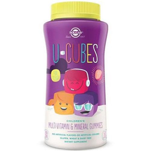 Solgar U-Cubes Multi-Vitamin & Mineral Gummies (60 Gummies)