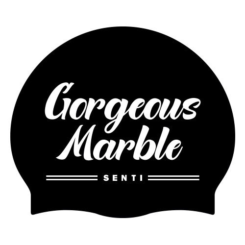 SC-2052 <BR> Gorgeous Marble_黑/白色