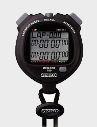 """<b>SEIKO Seiko</b> <br> <FONT COLOR=""""BLUE"""">100Lab Memory Professional Sports <br> Learning Stopwatch Stopwatch <br> <FONT COLOR=""""RED""""><b>S23601 S056-4000</b></font></font>"""