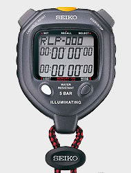 """<b>SEIKO Seiko</b> <br> <FONT COLOR=""""BLUE"""">100Lab Memory Professional Sports <br> Learning Stopwatch Timer <br> <FONT COLOR=""""RED""""><b>S23605 S058-4000</b></font></font>"""