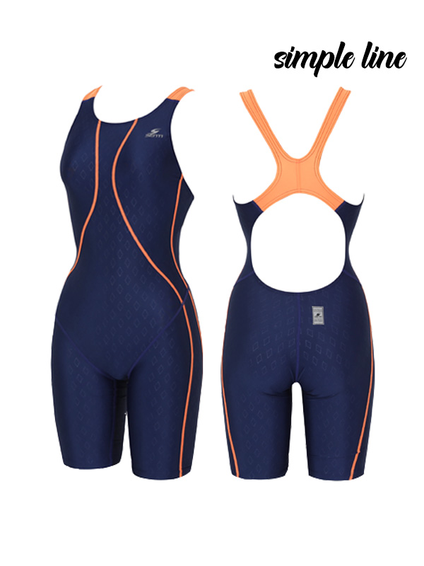 <B>[GLIDE FUSION SIMPLE LINE]</b> <br> Part 5 for female athletes <BR> WSD-1021 Simple Line Glide Fusion_NV/OR