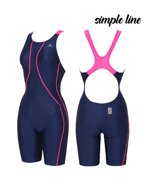<B>[GLIDE FUSION SIMPLE LINE]</b> <br> Part 5 for female athletes <BR> WSD-1023 Simple Line Glide Fusion_NV/PK