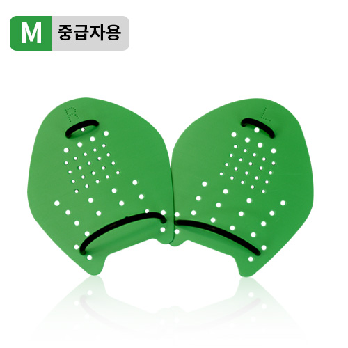 Centi catch hand paddle <br> GREEN (for M/Intermediate)