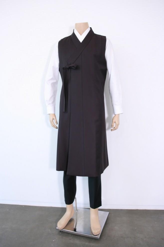 Wool Dark Burgundy Vest