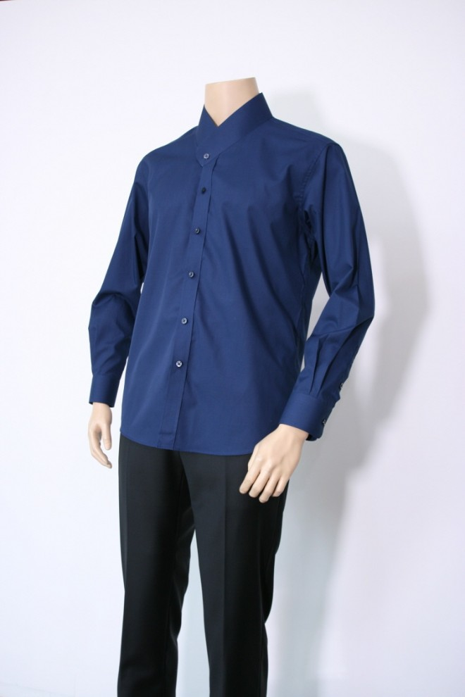 Cotton Deep Blue Git-Shirt