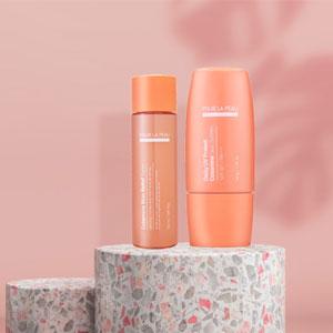 Calamine Skin Relief Toner + Daily UV Protect Calamine Sun Screen