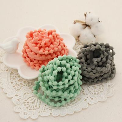 Pom Pom E-lace棉线花边缝2麻3种