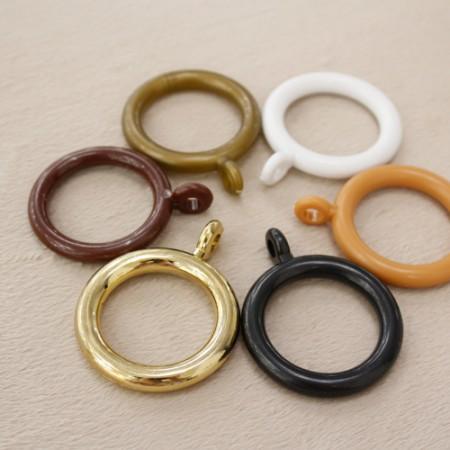 5种10ea窗帘环15mm仿压杆