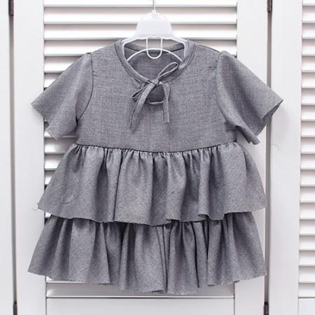 显著 - 服装)夏天西装用终端(灰色)