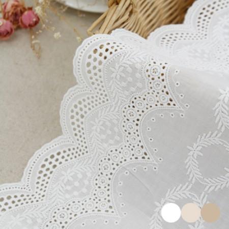 桌旗棉质蕾丝R026明星(三种)