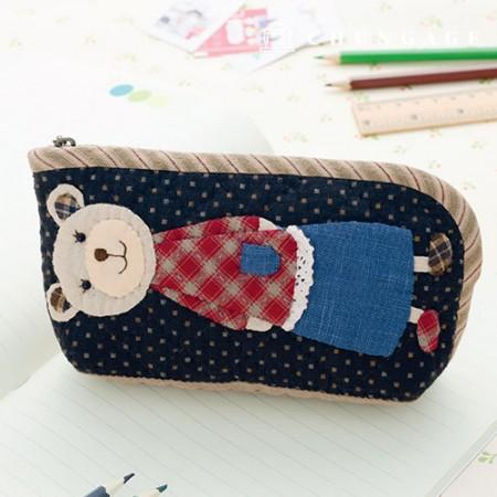 被子包装DIY套件妈妈熊铅笔盒CH-613083