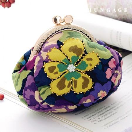 被子包装DIY套件花卉图案零钱包CH-615072