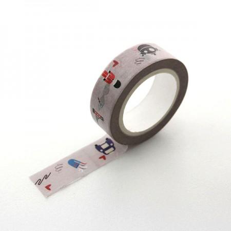 设计纸胶带伦敦灰色TA085