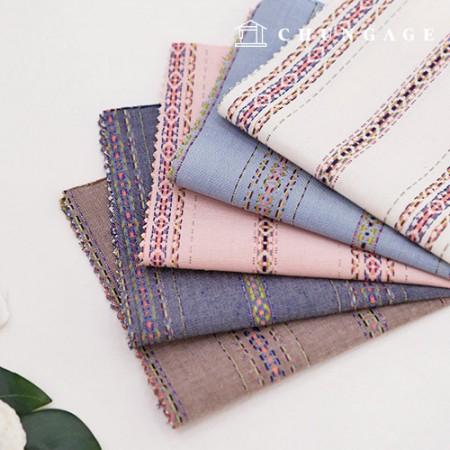 20片渐变织物条纹料料民族条纹5种