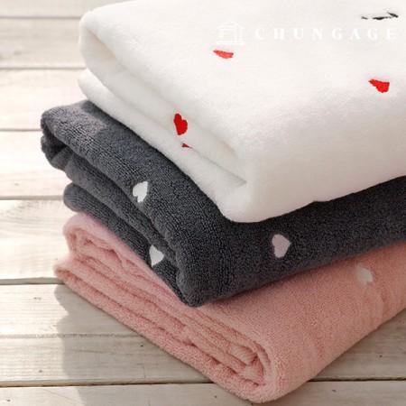 大毛巾绣花毛巾浴巾,沙滩巾,3种
